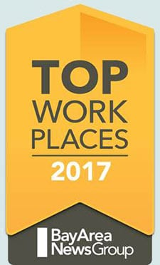 Bay Area News Group Top Work Places of 2017